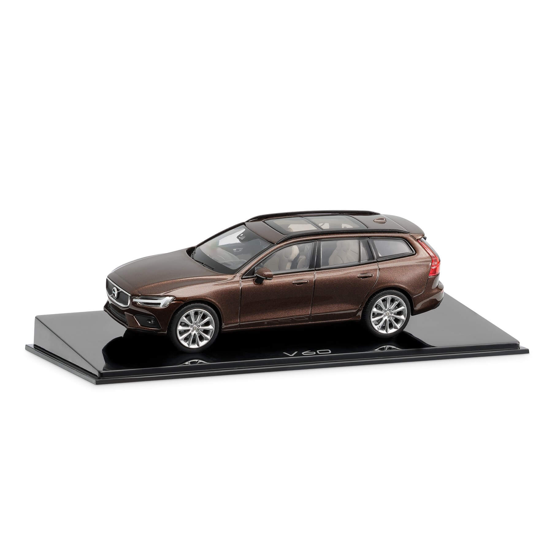 Model V60 v merilu 1:43, barva Maple Brown