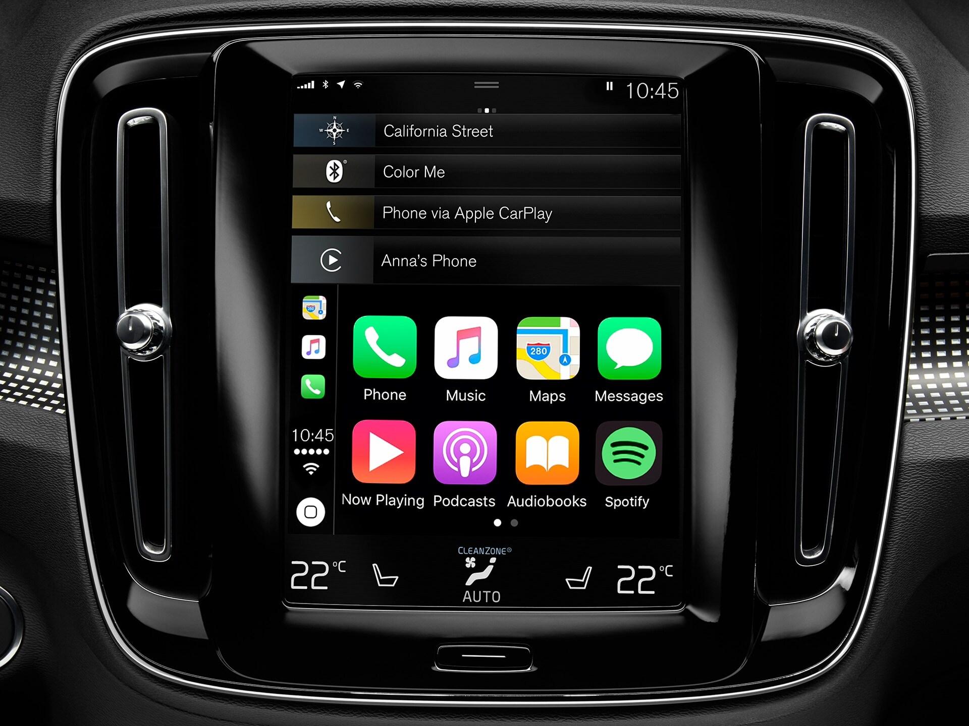 Integracija pametnog telefona na XC40